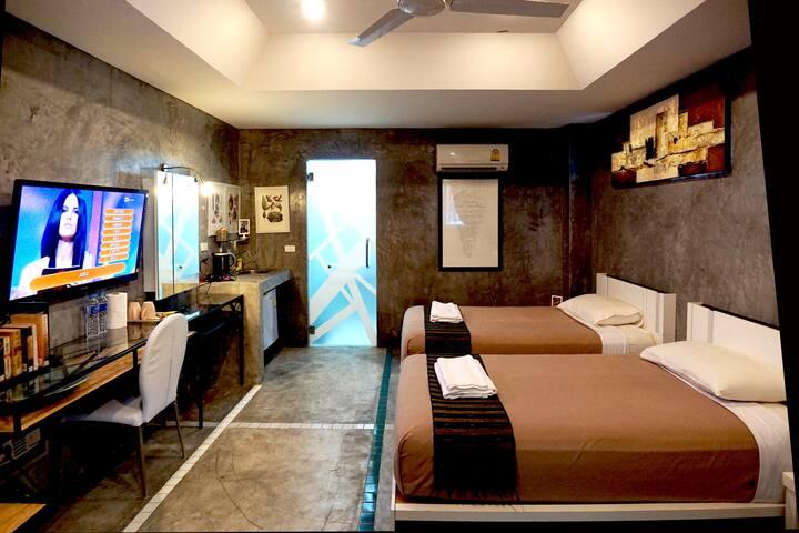 Phuket Paradiso, Superior Room - twin beds