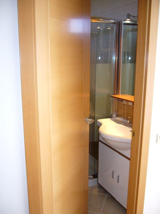 E15 bathroom with shower