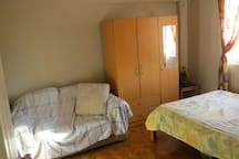 Bedroom #1 with Double Bed.