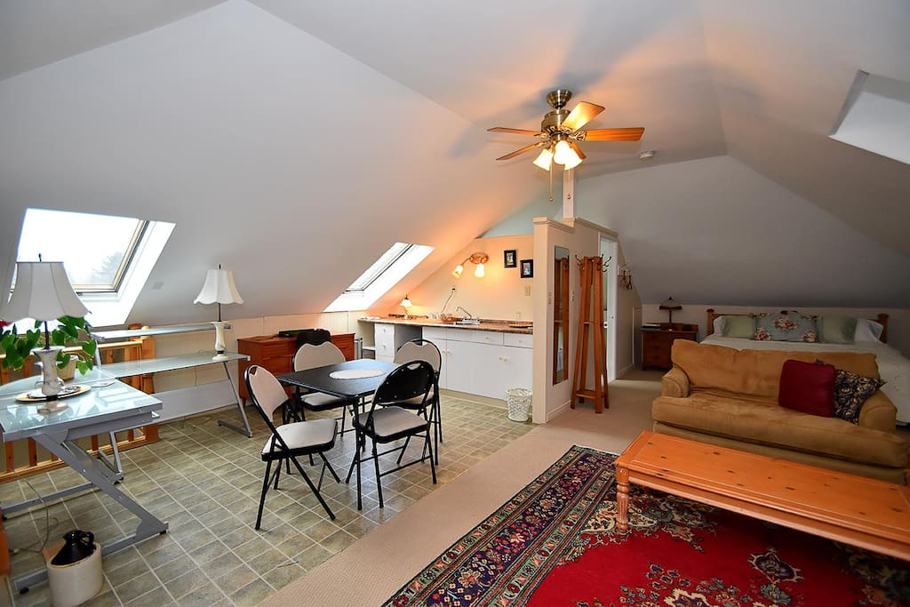 The loft chambres d 39 h tes louer collingwood ontario for Chambre hote canada
