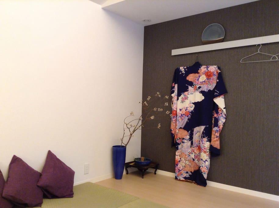 Dressing Kimono experience
