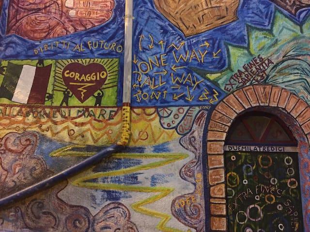 CasaHome×3 ParcNaz CILENTO PianoVetrale SA Murales