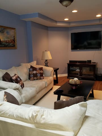 Private one bedroom basement apartment