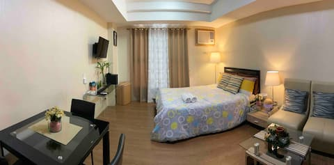 Studio Room/East Bel Air Residences Cainta W/WiFi