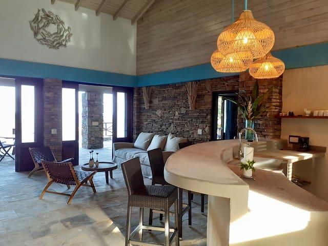 Private Ocean Front Luxury Villa in Jungle setting