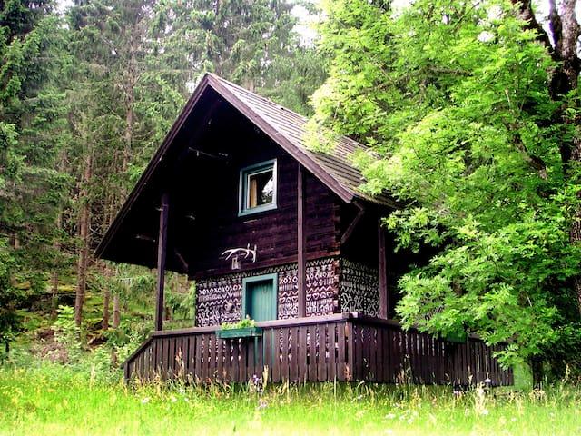 Troatkasten im Waldgut Oberhof - Gemeinde Metnitz - Cabana