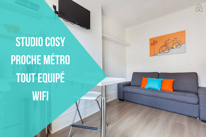 Lovely Studio Paris - Clichy - Clichy - Apartmen