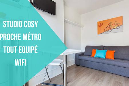 Lovely Studio Paris - Clichy - Clichy - Apartamento