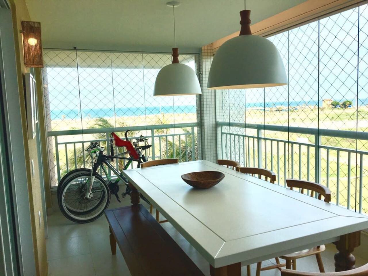 seaview at the balcony