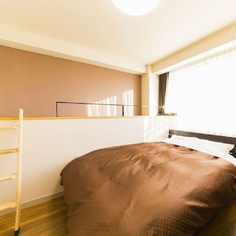 Dogonoyoad Iwasaki double bedroom