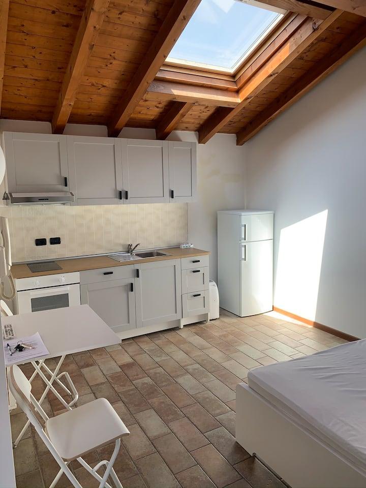 Charming flat 💙 in Bergamo city & Orio airport