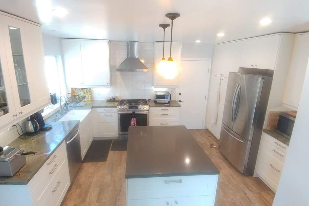 Remodeled kitchen with all new appliances