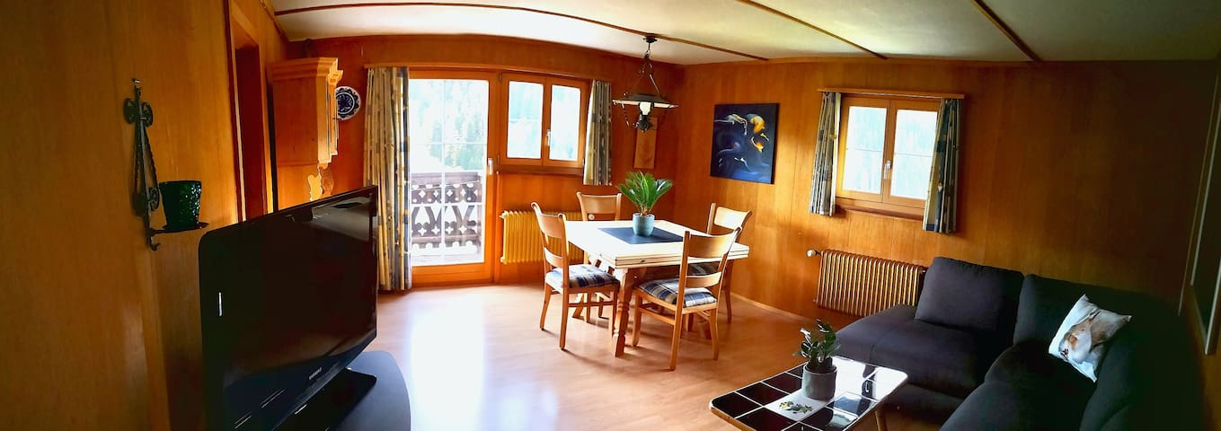 2 room appartment - WEF 2020 - 10 min. from Davos