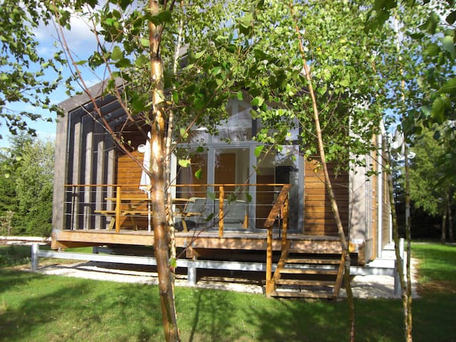 Gîte Argent écologique en bois - La Boissière-École - Earth House