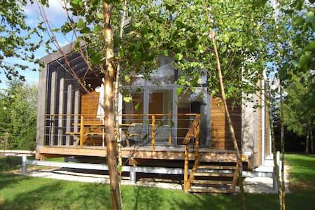 Gîte Argent écologique en bois - La Boissière-École - Erdhaus
