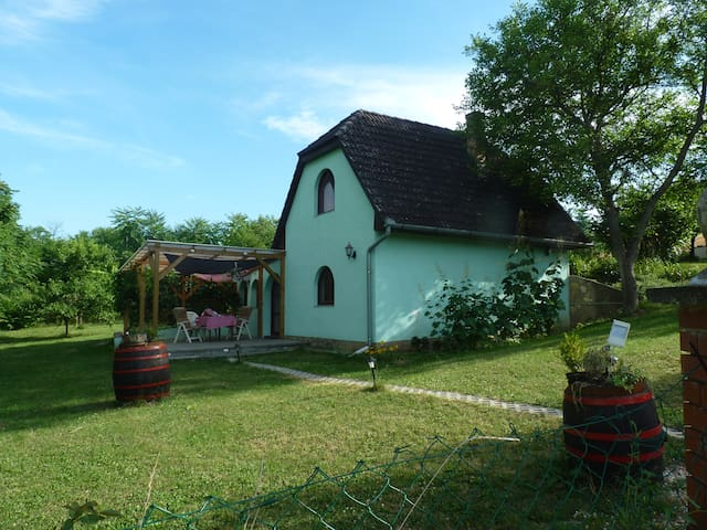 House and breakfast in Hongarije - Polány - Dům