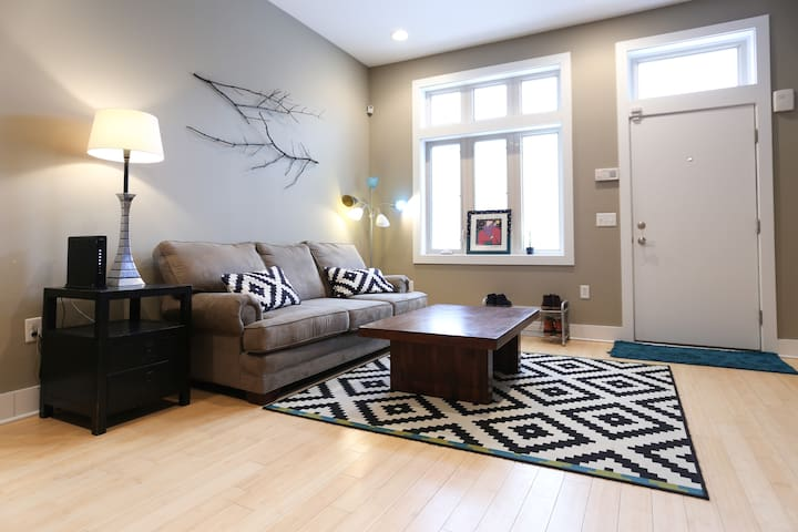 British Themed Modern Room