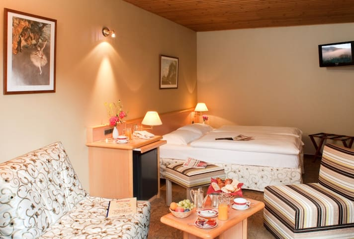 Chambre pavillon motel