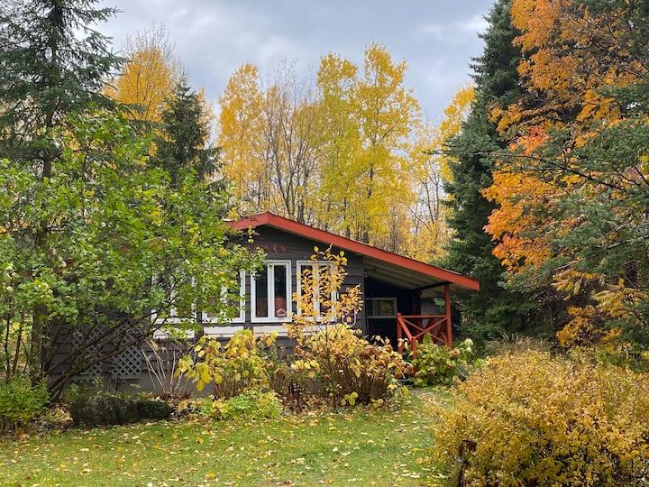 The Pinnacle. Charming mountain log pavillon