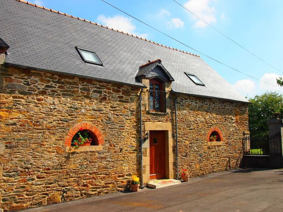 Charming characterful barn conversion bursting with original features.