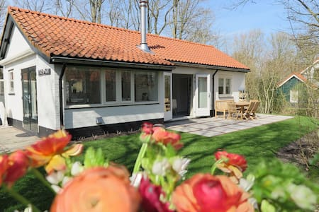 Pleasant house, directly behind the dunes of the Netherlands' largest southern beach!