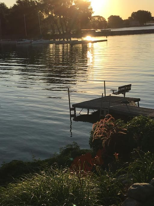 Rest by the water