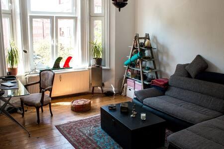 Sonnige 3-Zimmer Wohnung am Schrevenpark - Kiel - Wohnung