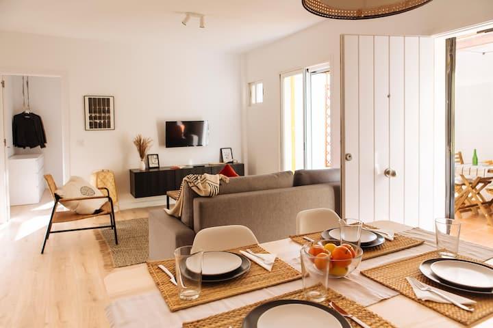 ZURIA - Peaceful house with patio in Cabo de Gata