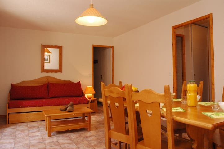 ESS013 - Apartment for 6 persons in the village and near slopes