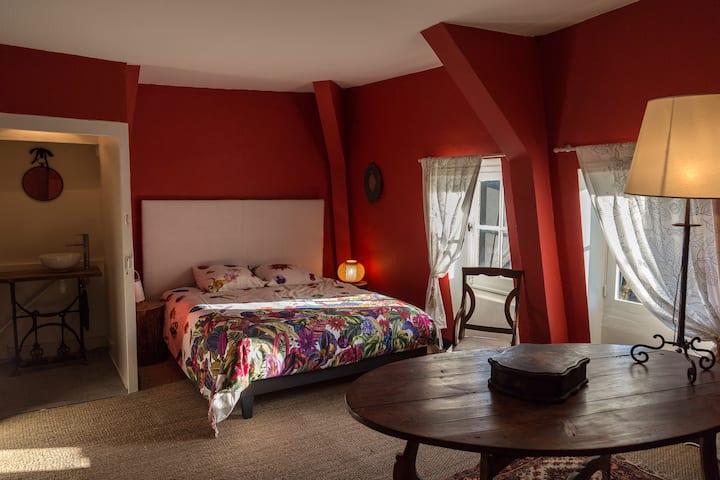 Château de Montchevreau La chambre aux Coccinelles
