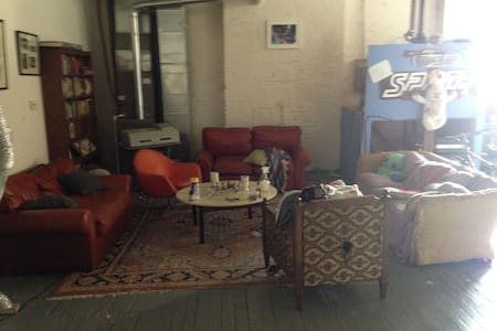 Sofa's to sleep in the common area - Baltimore