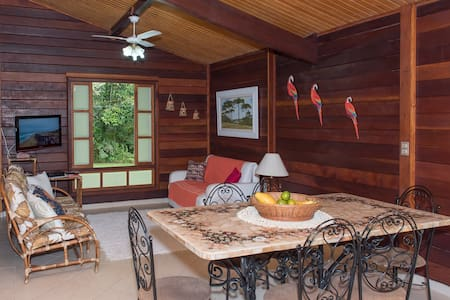 Casa na praia perfeita p/ home office -  Bertioga