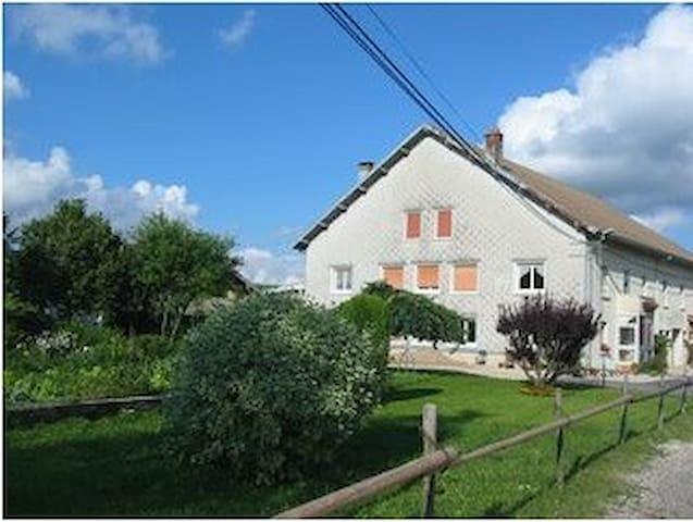 Gîte 4 à 6 personnes (Doubs / Haut-Jura)