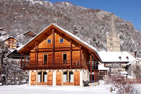 Alpine chalet for 8 - 13 people in Vallouise - Vallouise