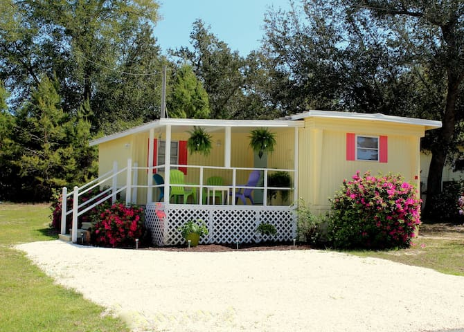 The Sugar Shack... adorable cottage in Bear Point - หาด Orange Beach - บ้าน