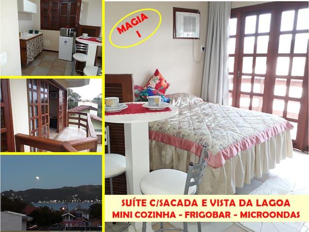 LAGOA DA CONCEIÇÃO- SUÍTE MAGIA I- Vista da Lagoa