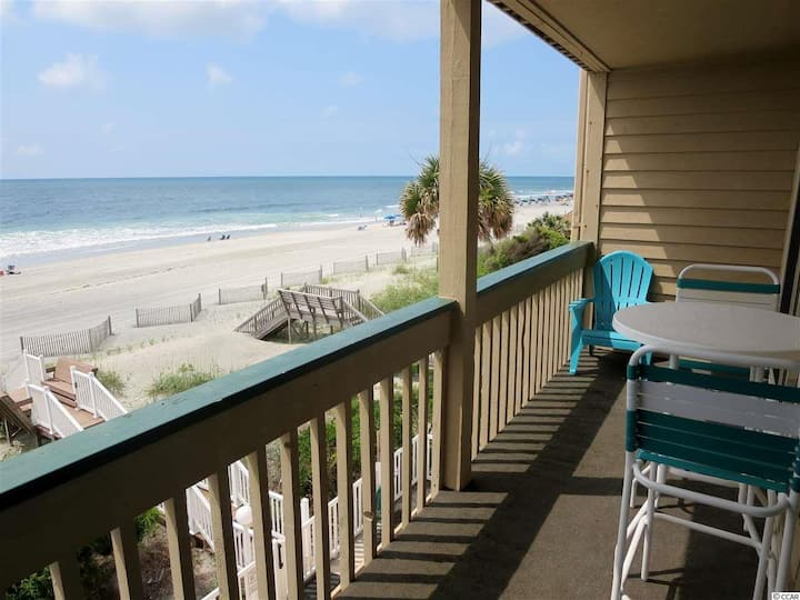 202 Sand Fiddler Direct Ocean Front Paradise!