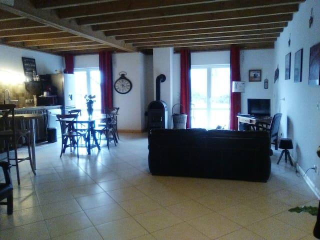 Les chambres de Val. - Grignon - House