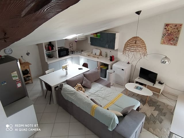 Apartment in the countryside near tourist places