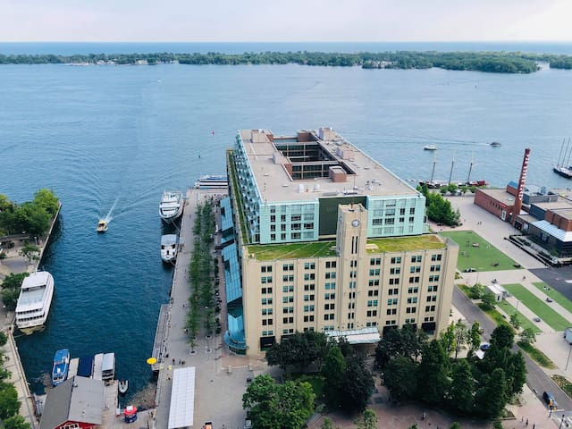 Downtown condo with an amazing lake view