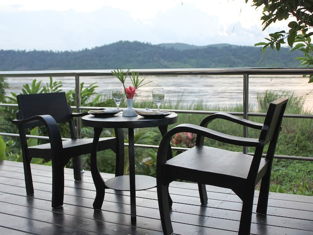 Entire Private Riverside Resort on the Mekong