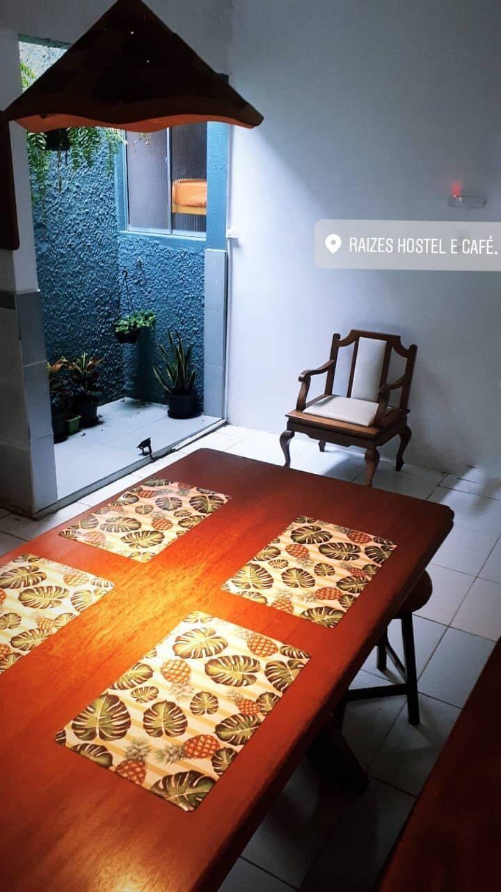 Raízes Hostel e Café.A sua casa na Amazônia!