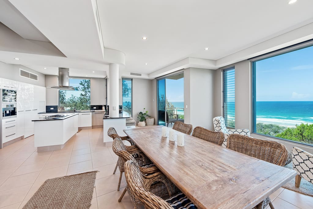 Open Plan Living with Large View Windows