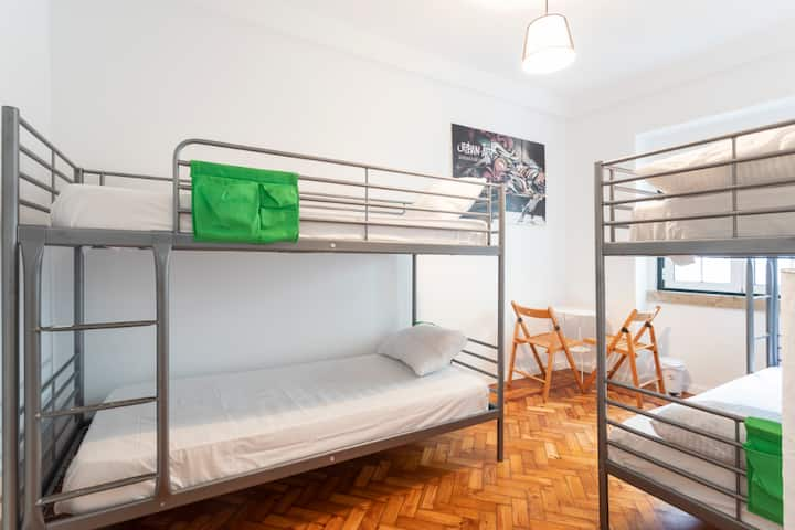 Brand New Hostel in center of Lisbon.