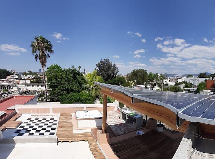 Depa Gaïa, 3 rooms, downtown, luxurious and modern