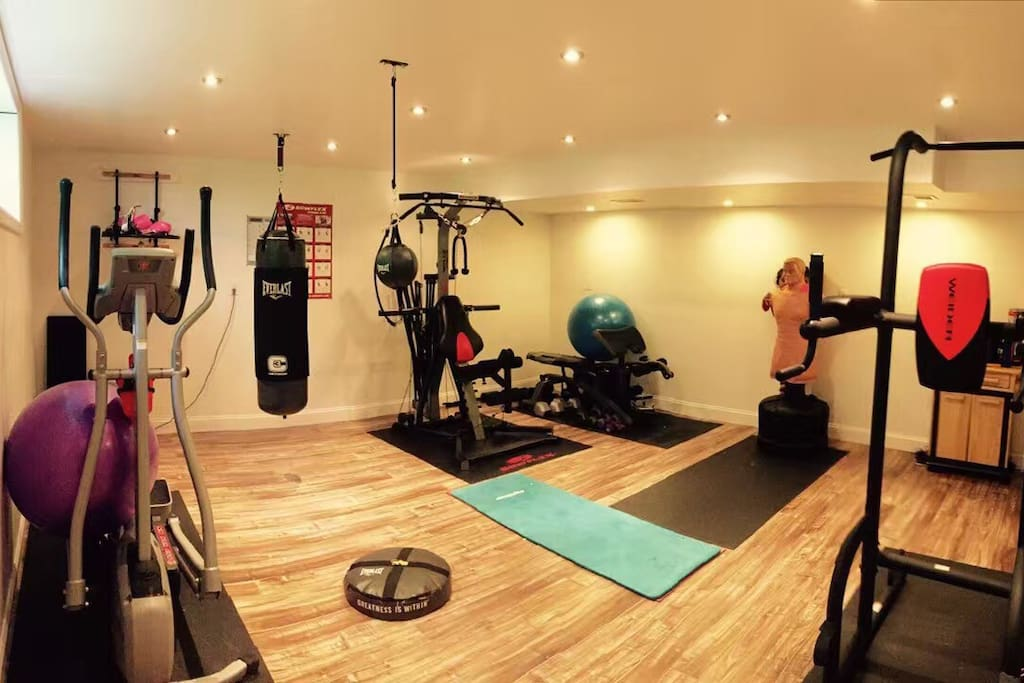 Basement Home Gym