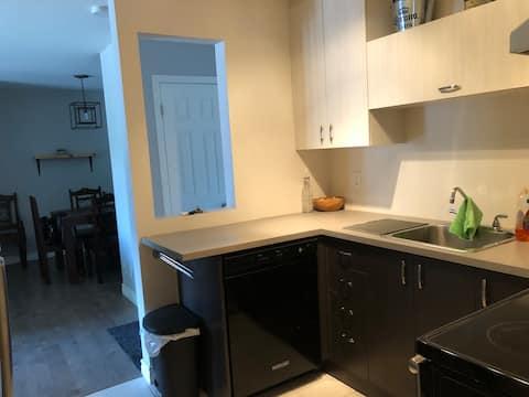 Superbe appartement / 1 chambre + 1 divan-lit