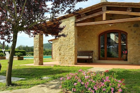 Stone house with private pool Codilungo in Chianti - San Filippo A Ponzano