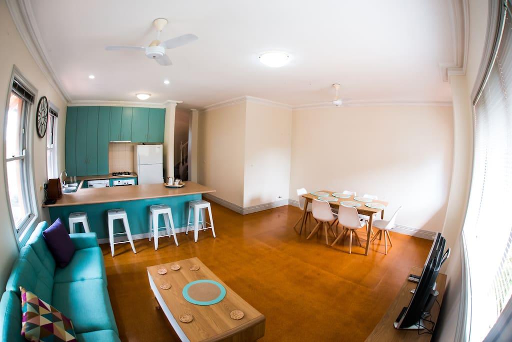 Kitchen Dining Lounge