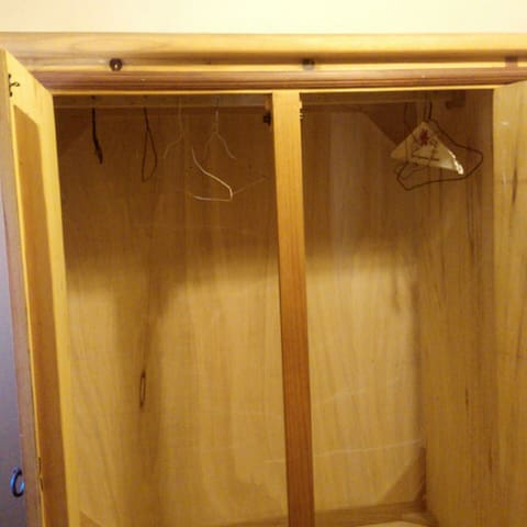 Bedroom #2 -Closets with a lot of space for your clothes
